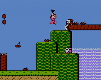 Super Mario Bros 2 Screenshot - Peach