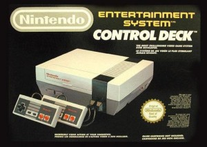 NES Control Deck Box Art