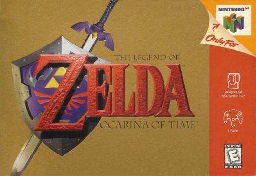 The Legend of Zelda: Ocaina of Time Box Art