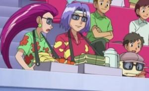 Team Rokcet in disguise Pokemon Pokémon anime