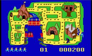 The Chase on Tom Sawyer's Island Screenshot