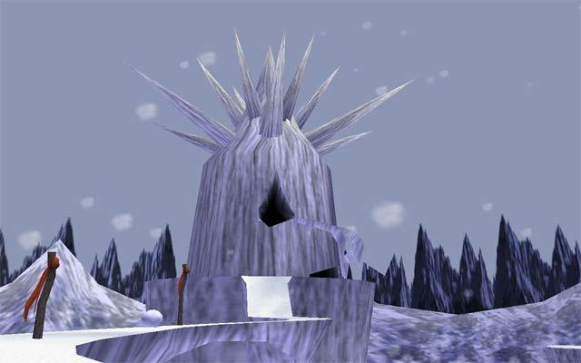 The Legend of Zelda: Majora's Mask Screenshot - Snowhead