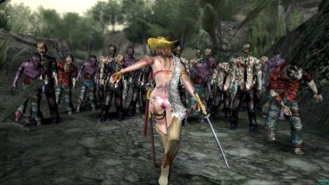 Onechanbara: Bikini Zombie Slayers Screenshot