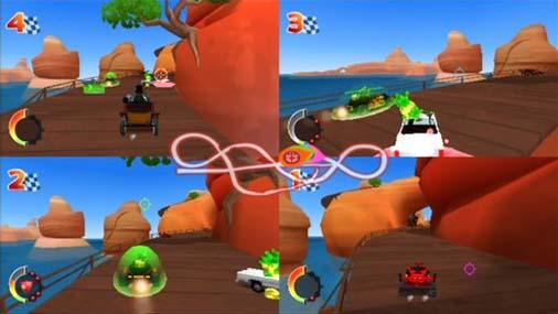Racers' Island - Crazy Arenas Screenshot