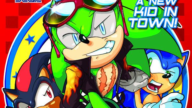 Sonic Comic Artwork