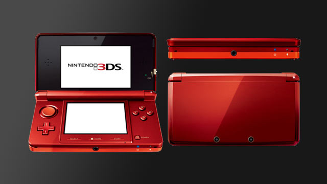 3DS in Red