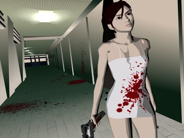 Killer7 KAEDE Smith screen shot