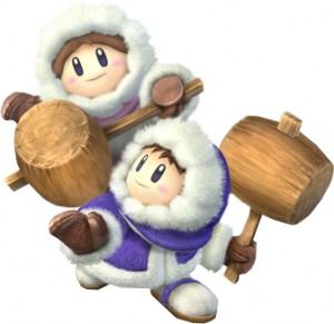 Ice Climbers Super Smash Bros. Brawl character artwork
