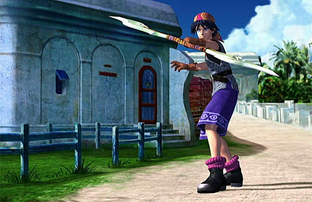 Chrono Cross Screenshot - Serge