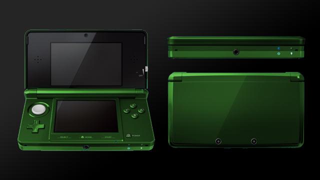 3DS Alternate Color Mockup: Green