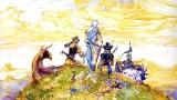 Final Fantasy III Artwork by Amano