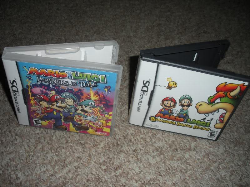 Bootleg Mario & Luigi Game