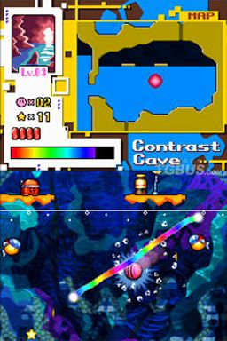 Kirby: Canvas Curse Screenshot