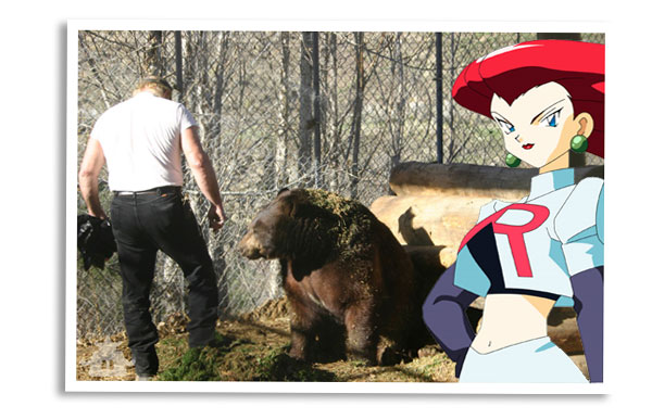 Team Rocket Tourism - Henry the Bear