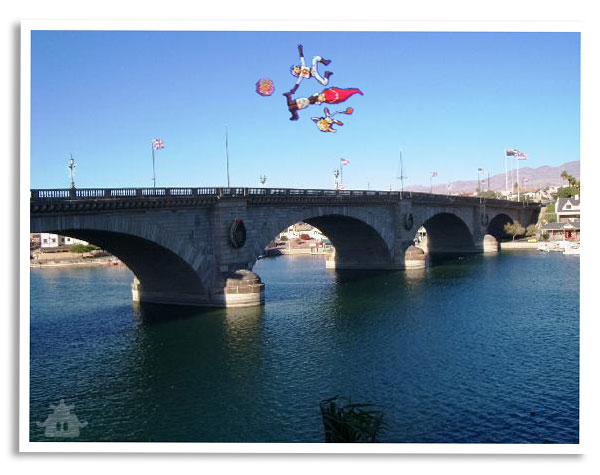 Team Rocket Tourism - Bridge