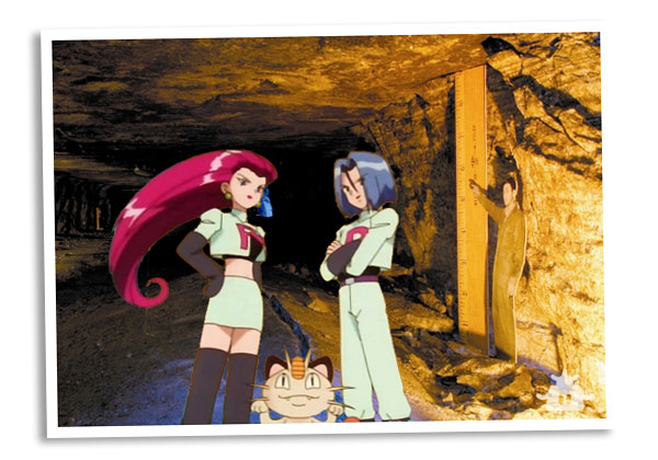 Team Rocket Tourism - Salt Caves