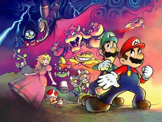 Mario & Luigi: Superstar Saga Concept Art