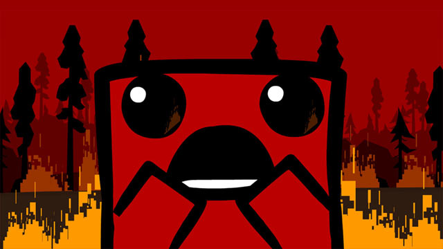 Super Meat Boy Art