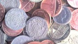 Masthead, pile of British coins