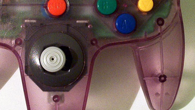 Nintendo 64 Controller Up Close