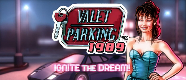 Valet Parking 1989 title screen