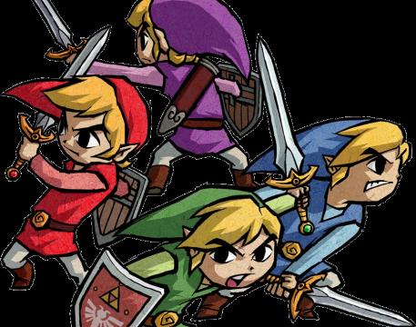 Four Links, Legend of Zelda: Four Swords artwork