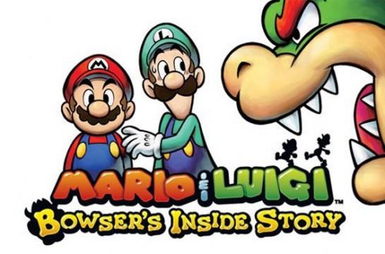 Mario & Luigi: Bowser's Inside Story artwork