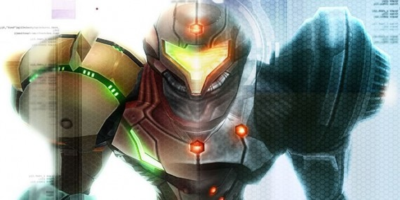 Samus Aran two forms, artwork