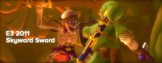 The Legend of Zelda: Skyward Sword masthead E3