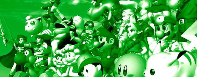Smash Bros. masthead for Green Switch Palace