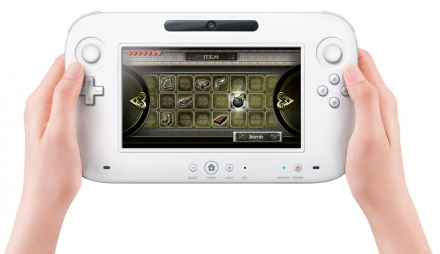 Wii U Controller (Zelda HD inventory screen)