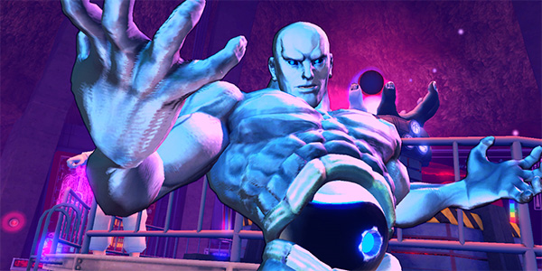 Super Street Fighter IV boss, Seth screen