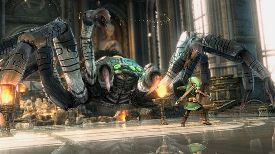 Zelda HD e3 2011 screen