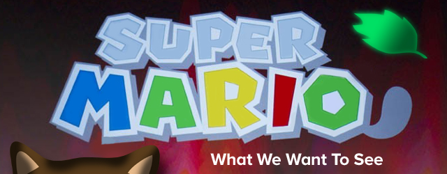 Super Mario 3DS What We'd Like To  See Masthead