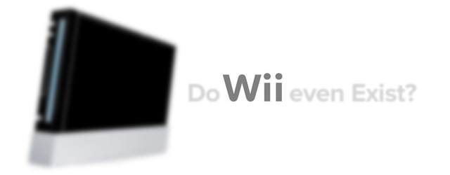 Do Wii Even Exist? masthead
