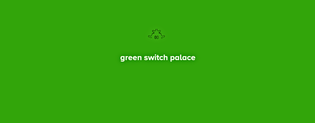 Green Switch Palace masthead (Marc N. Kleinhenz column)