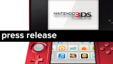 Press Release MASTHEAD A (Generic; Flame Red 3DS)