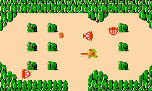 The Legend of Zelda, NES, screenshot
