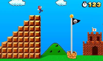 Mario Land Background That Super Mario 3d Land