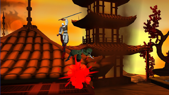 Screenshot Shinobi 3DS TEST 01