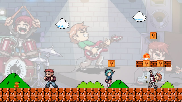 Scott Pilgrim vs. Nintendo masthead