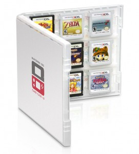 Club Nintendo Game Card Case