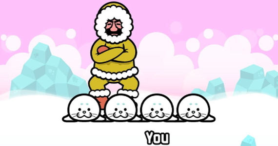 Rhythm Heaven Fever screenshot seal game