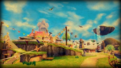Art Zelda Skyward Sword Skyloft