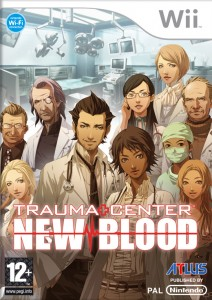 Trauma Center: New Blood box art