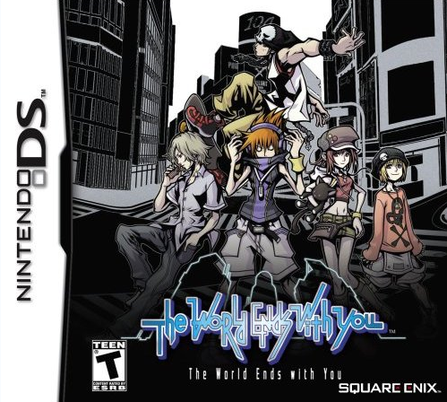 The World Ends With You box art