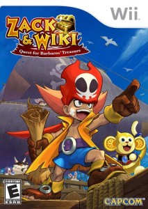 Zack & Wiki: Quest for Barbaros' Treasure box art