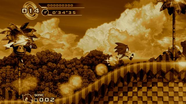 Sonic nostalgia masthead