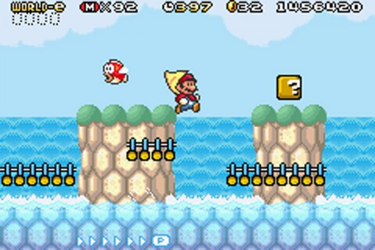 Super Mario Advance 4 - Super Cape