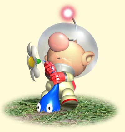 Pikmin Captain Olimar